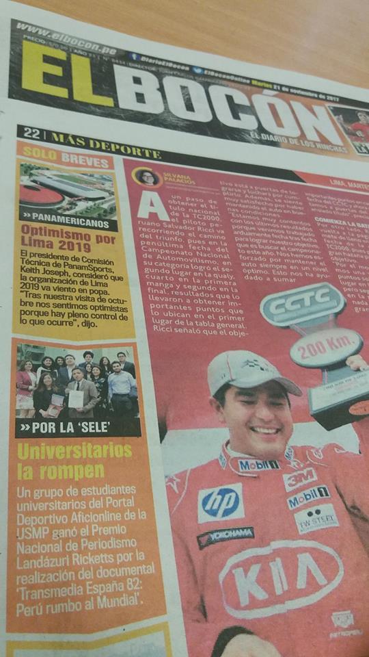 Diario El Bocón Informó Sobre La Premiación A Aficionline Por El